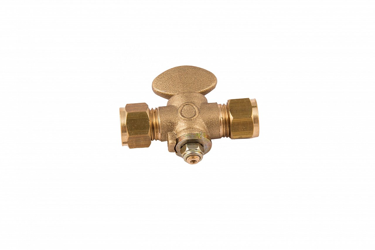 SIZE 15mm ISOLATION VALVE GAS COCK STOP TAP COMPRESSION FITTING